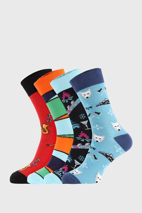 4 PACK ponožek Bellinda Crazy Socks Winter