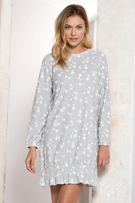 Jadea Dámská noční košile Esmeralda šedá S