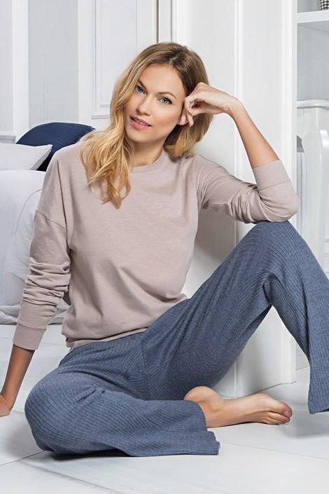 Jadea Domácí komplet Carlee modrý jeans S