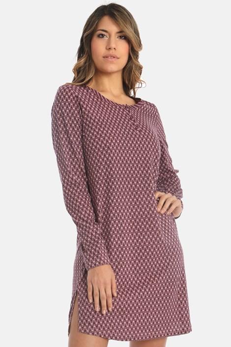 Sassa Dámská noční košilka Lovely winter fialová 46