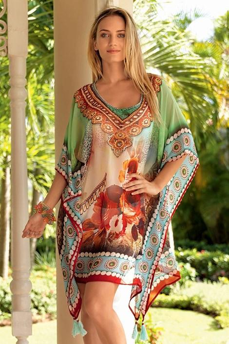 d9a46ec8c280 Luxusní italské plážové šaty z kolekce Iconique 643KY