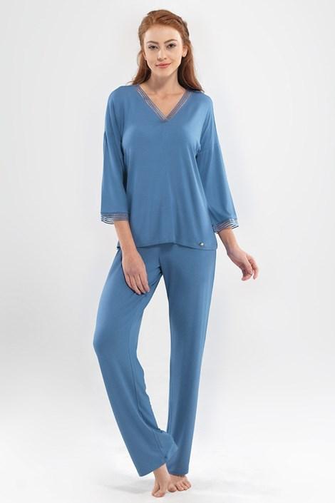 Blackspade Dámské pyžamo Emma modrá XXL