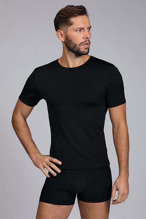 Černé termo tričko Short