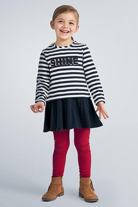 Mayoral Moda Infantil, S:A.U. Dívčí legíny Simple Color červená 9