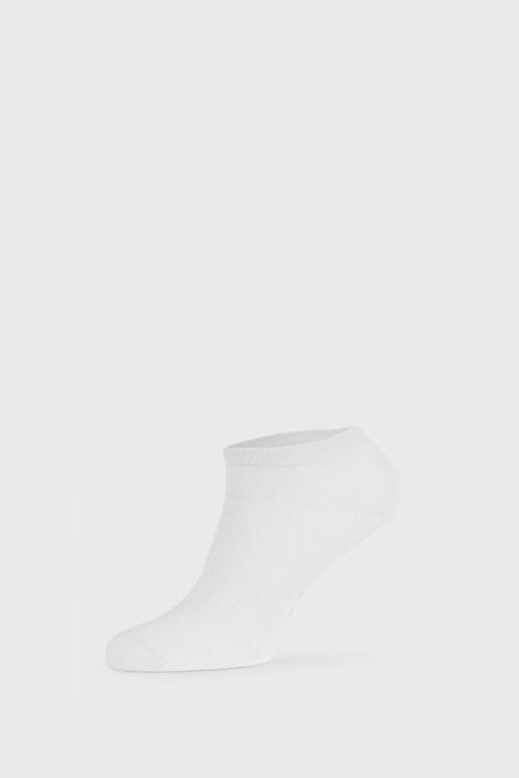 Bílé bambusové ponožky nízké
