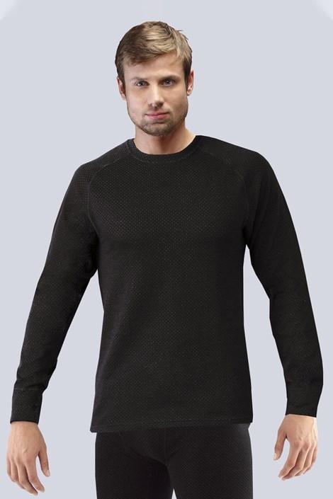Gina Pánské tričko GINO Merino Thermo Lite černá XXL
