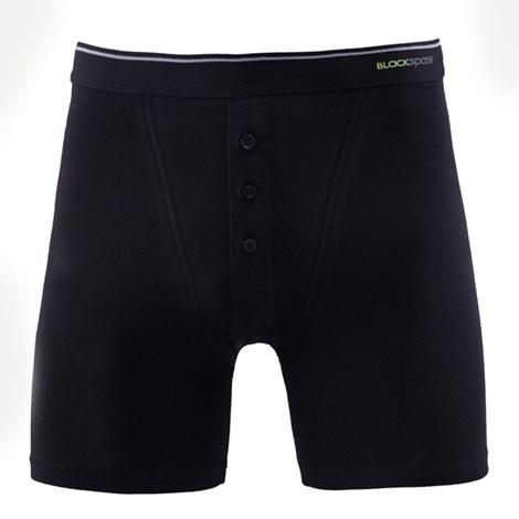 Blackspade Pánské boxerky BLACKSPADE Tender Retro černá M