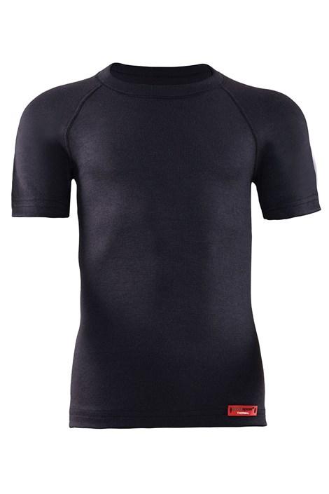 Blackspade Dětské funkční triko Thermal Kids KR černá 116/122