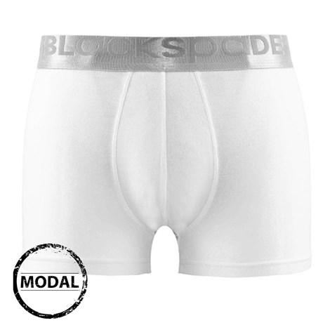 Blackspade Pánské boxerky BLACKSPADE Silver Mikromodal bílá L