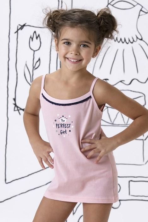 COTONELLA Dívčí spodní košilka Honey růžová 8