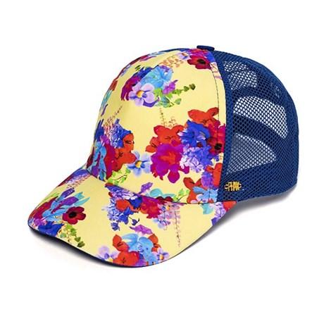 Phax Dámská kšiltovka Flowers z kolekce Phax modrá uni