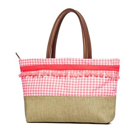 Phax Plážová taška Maracas z kolekce Phax růžová uni