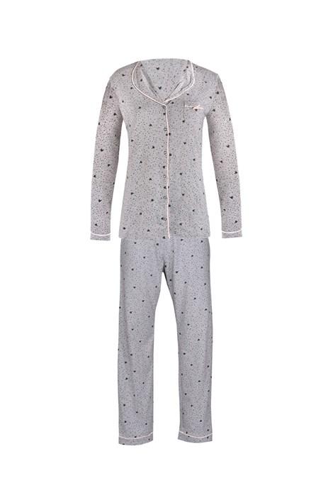 Mary White Dámské pyžamo Pygt šedé šedá XXL