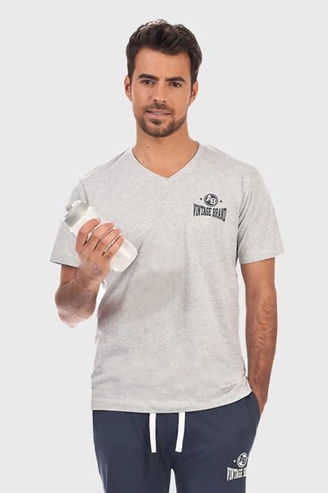 Alan Brown Pyžamové tričko Perm šedá M
