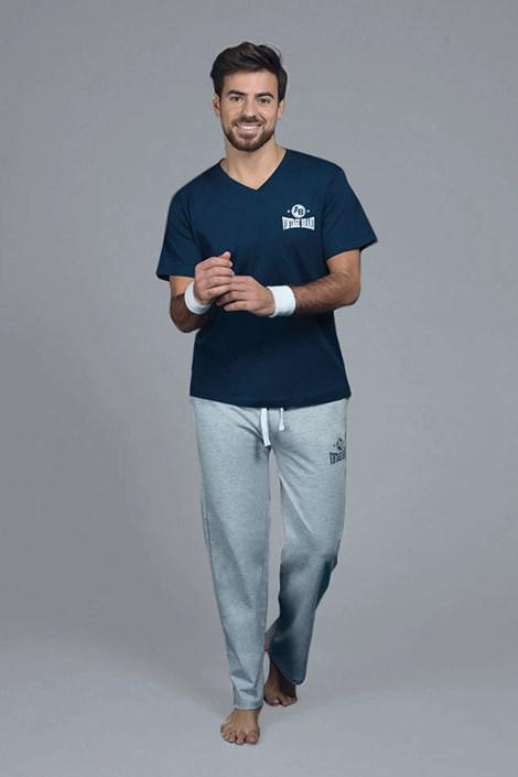 Alan Brown Tmavě modré pyžamové tričko Marine modrá M