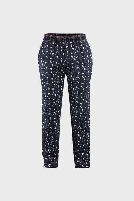 Alan Brown Pánské pyžamové kalhoty modré modrá M