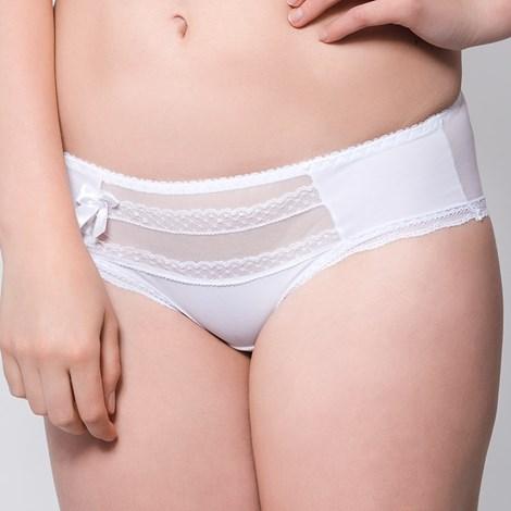 Avalingerie Kalhotky Caltha klasické bílá XL