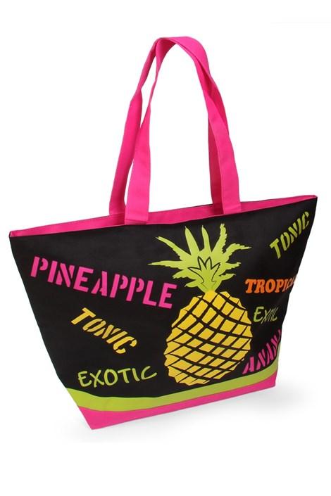 Le Comptoir De La Plage Plážová taška Acapulco Ananas barevná uni