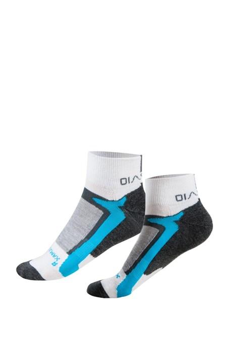 Spaio Sportovní kotníčkové ponožky Active modrobílá 41-43