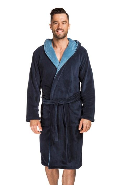 Envie Pánský župan Adam tmavě modrý navy XL/XXL