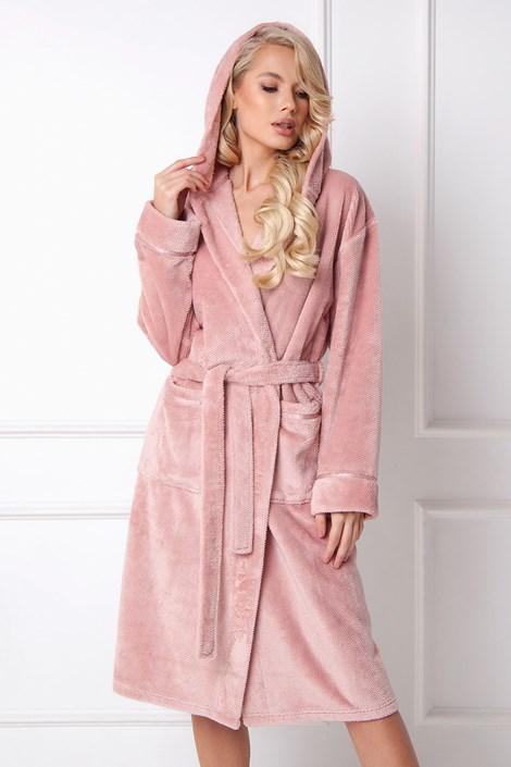 Жіночий теплий халат Adeline