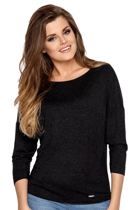 Babell Dámské tričko Agatha černá XL