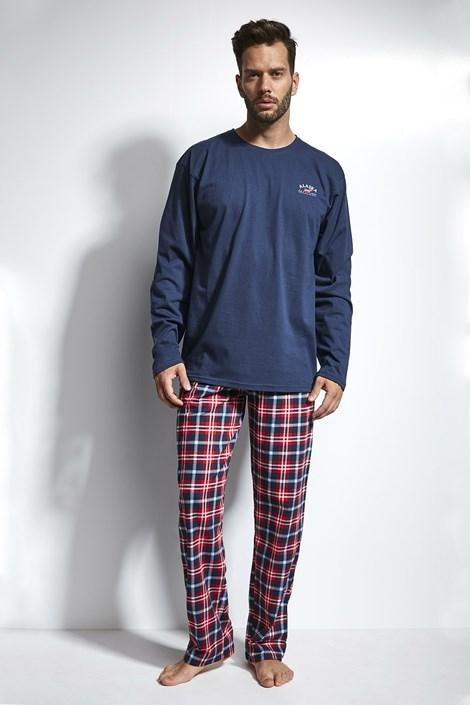 Cornette Pánské pyžamo CORNETTE Alaska modročervená XXL