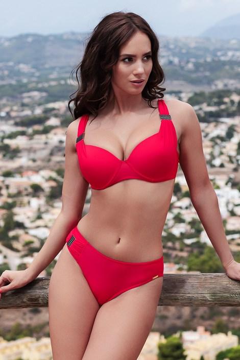 Madora Dámské dvoudílné plavky Alex Red červená 44