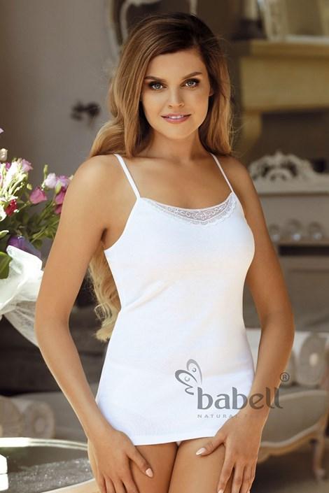 Babell Dámská spodní košilka Alina bílá XL