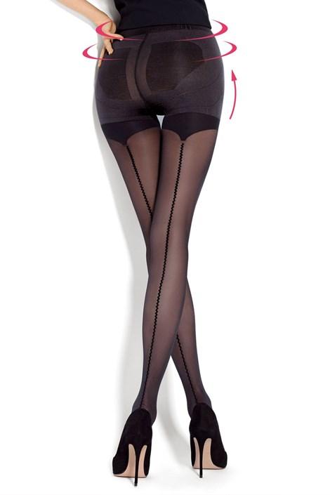 MONA Stahující punčochové kalhoty Allure nero 4