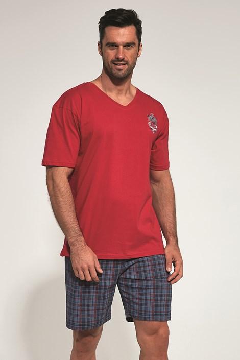 Červené pyžamo Anchor
