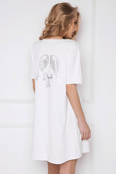 Aruelle Dámská noční košile Angel bílá bílá XL