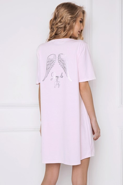 Aruelle Dámská noční košile Angel růžová ruzova XL