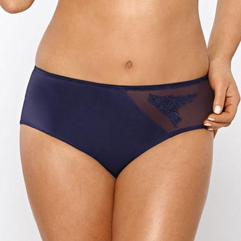 Nipplex Kalhotky Maia Blue lehce stahovací fialová XXL