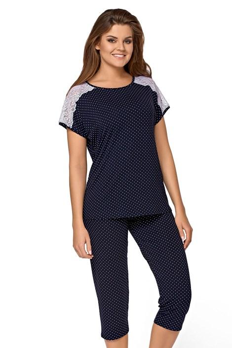 Babella Dámské pyžamo Ana nám.modrá XL