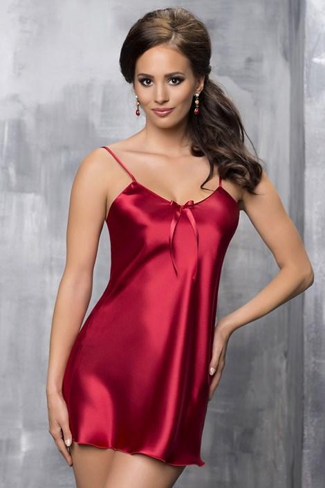 Elegantna spalna srajčka Aria Burgundy