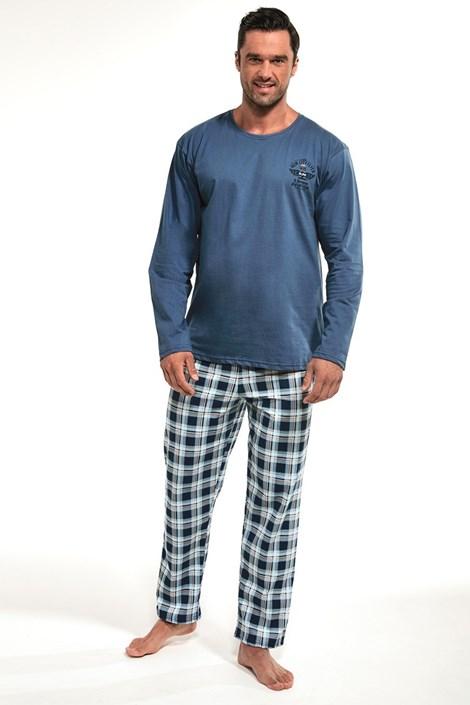 Cornette Pánské pyžamo Aviation I. modrá XXL