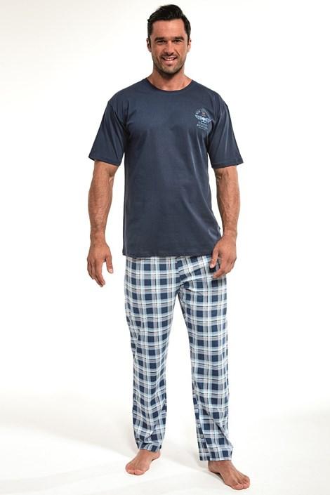 Cornette Pánské pyžamo Aviation 2 nám.modrá XXL