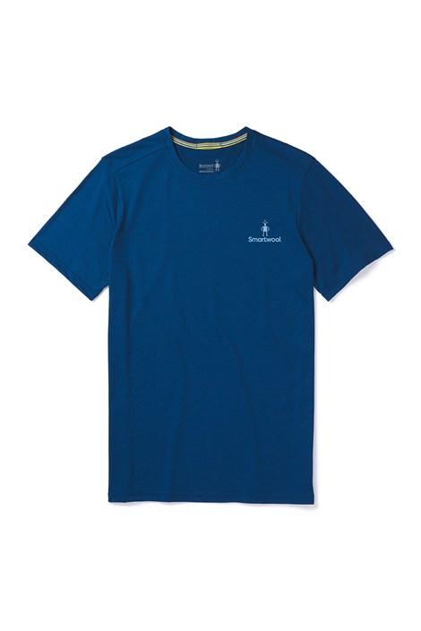 Smartwool Pánské triko SMARTWOOL Merino 150  modré modrá XXL