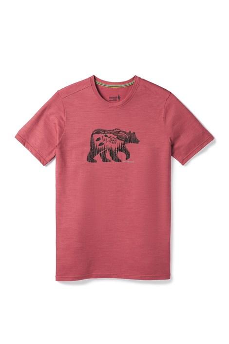 Smartwool Pánské triko SMARTWOOL Merino 150 červené červená L