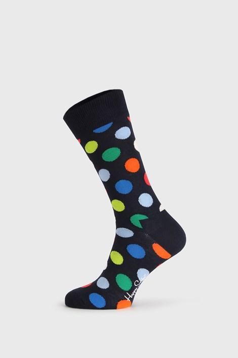 Černé ponožky Happy Socks Big Dot