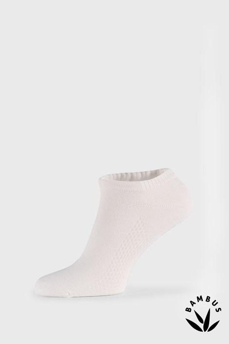 Bílé bambusové ponožky Bellinda Air