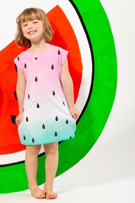 Lina Pink Dívčí noční košile Smile barevná 5