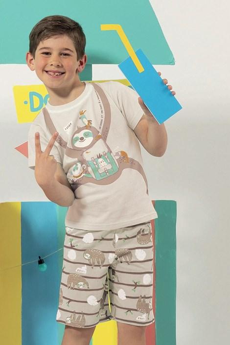 Dodo Chlapecké pyžamo Lazy barevná 5
