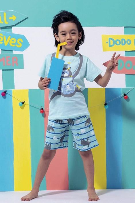 Dodo Chlapecké pyžamo Lazy vícebarevná 5