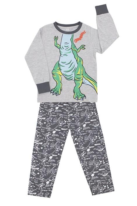 CTM Style Chlapecké pyžamo CTM Rex šedá 5