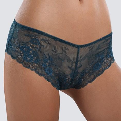 Babell Kalhotky Lauren klasické smaragdová XL