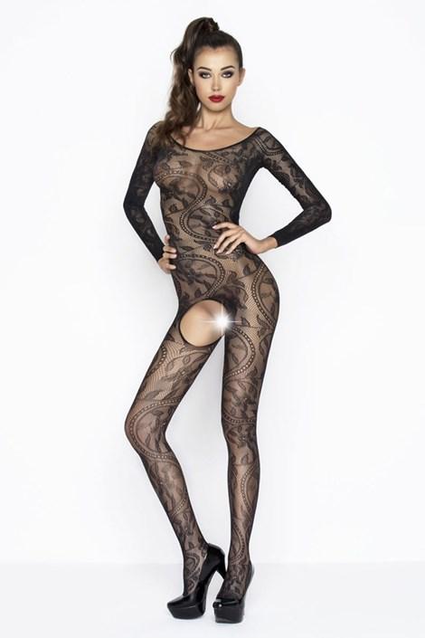 Erotic Line Bodystocking Bella černá S/L