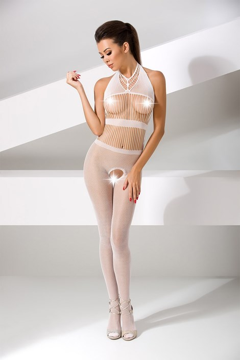 Erotic Line Bodystocking Evelin bílá uni