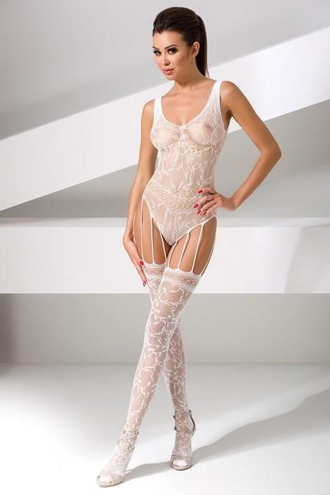 Erotic Line Bodystocking Lucille bílá uni